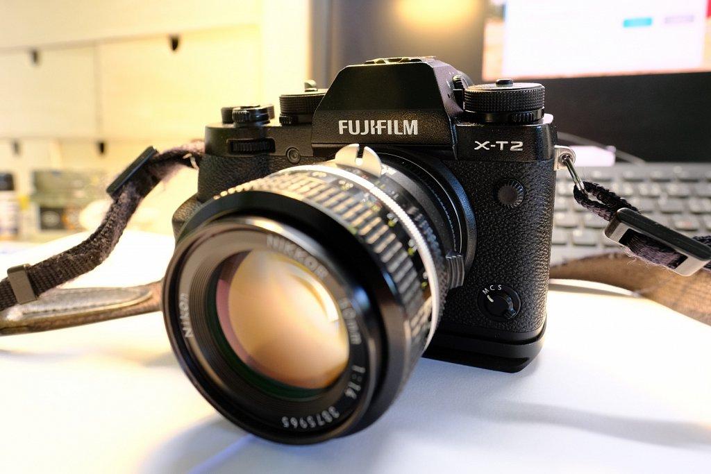 FUJIFILM XT-2 + Nikkor AiS 50mm f/1.4